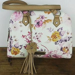 New NICOLE MILLER Floral Shoulder Bag